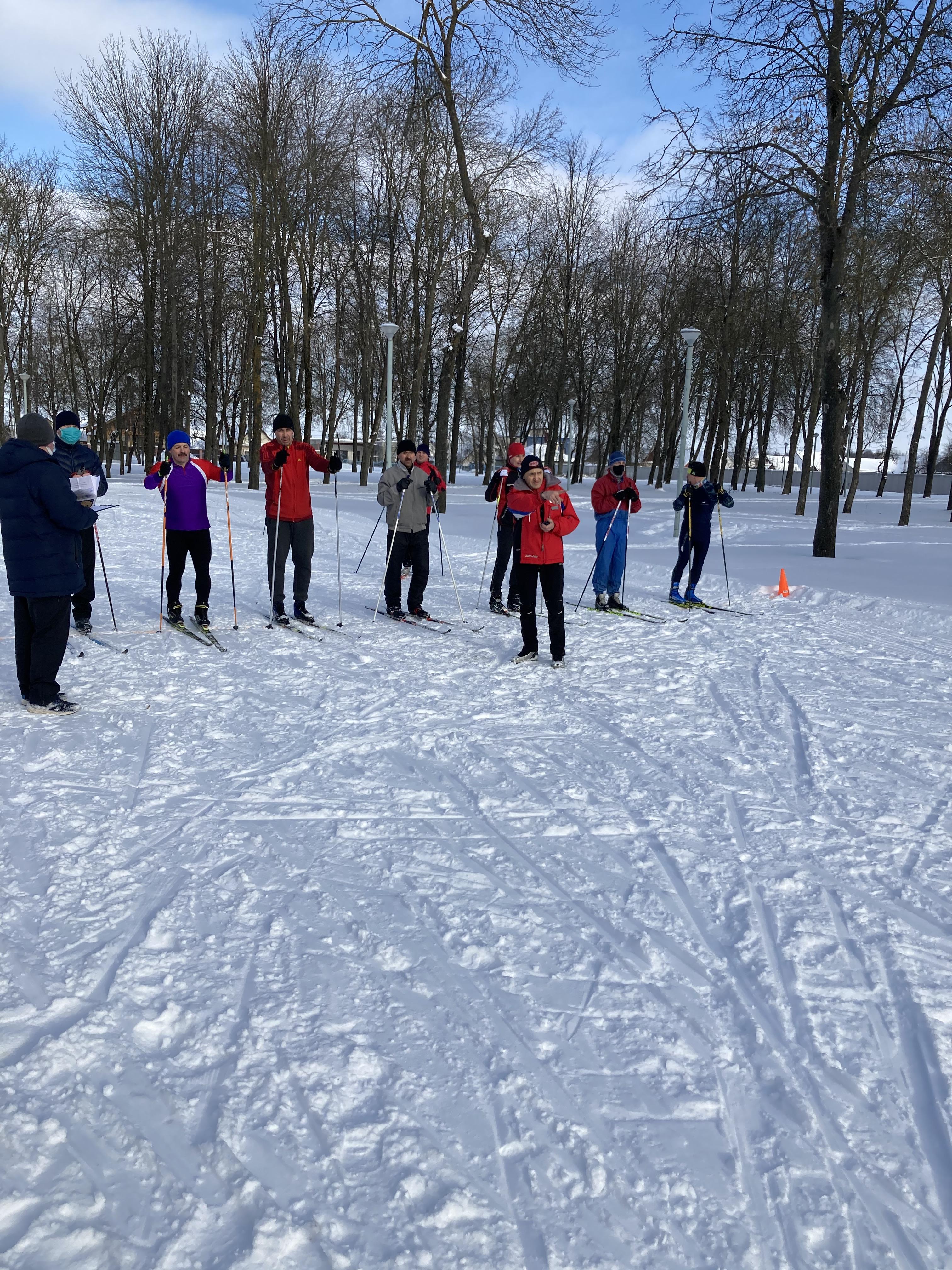 Городские соревнования по лыжному спорту