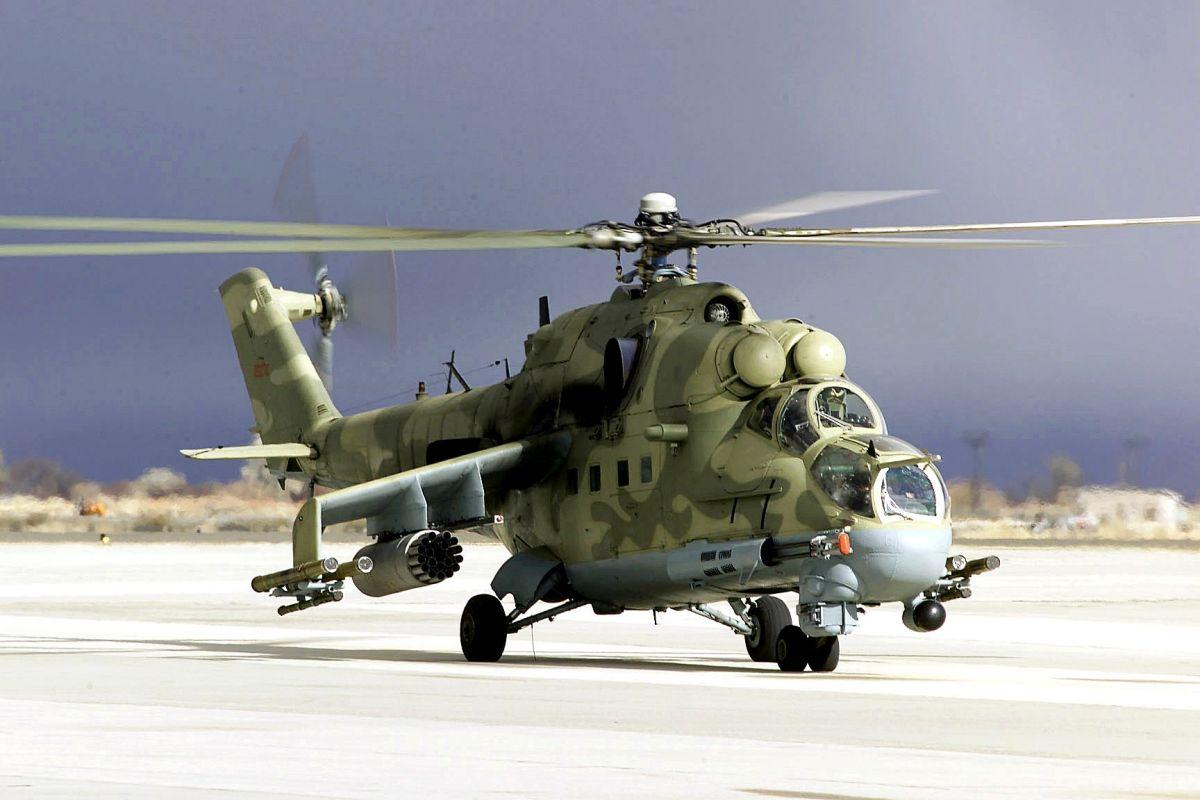 Overhaul of Mi-24, Mi-35 helicopters