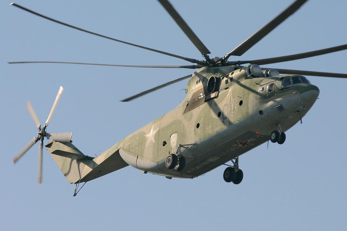 Overhaul of Mi-26 helicopters